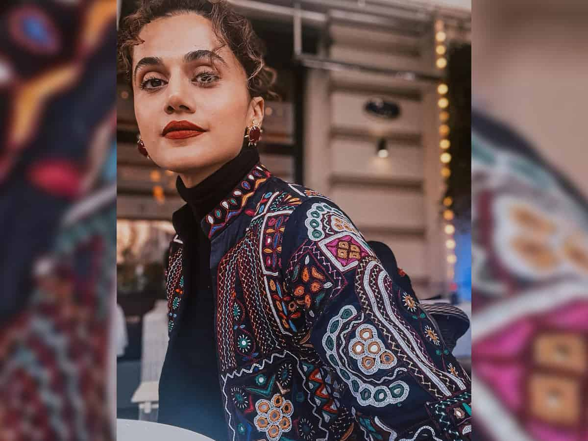 'No industry with competition, stress': Taapsee Pannu