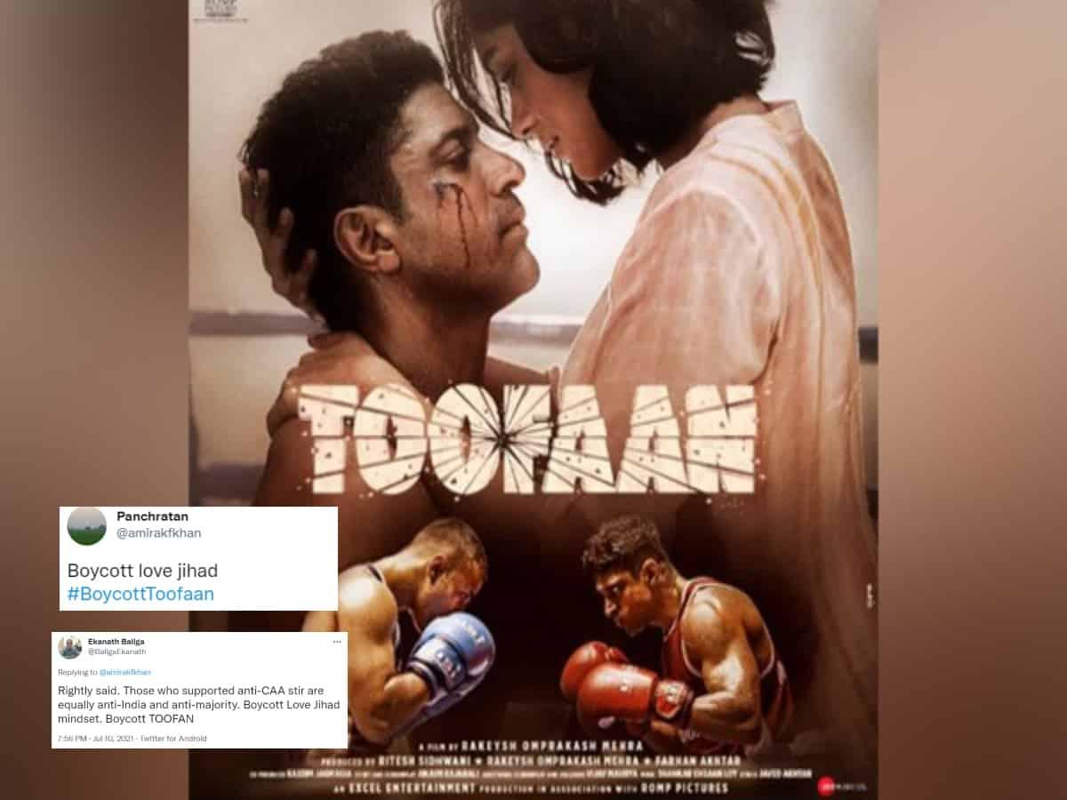 Farhan Akhtar's Toofaan accused of promoting 'Love Jihad'