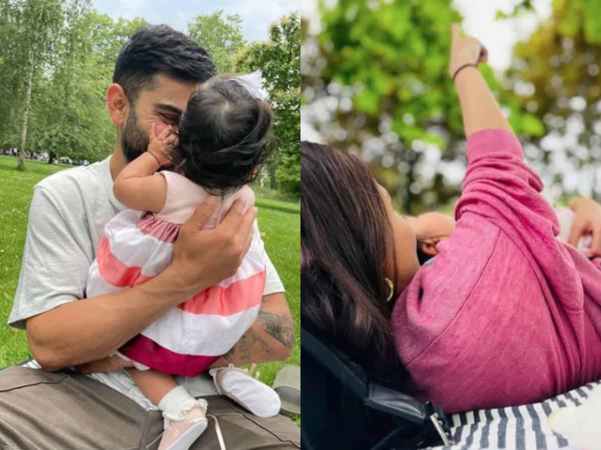 Anushka, Virat celebrate as daughter Vamika turns 6 months old