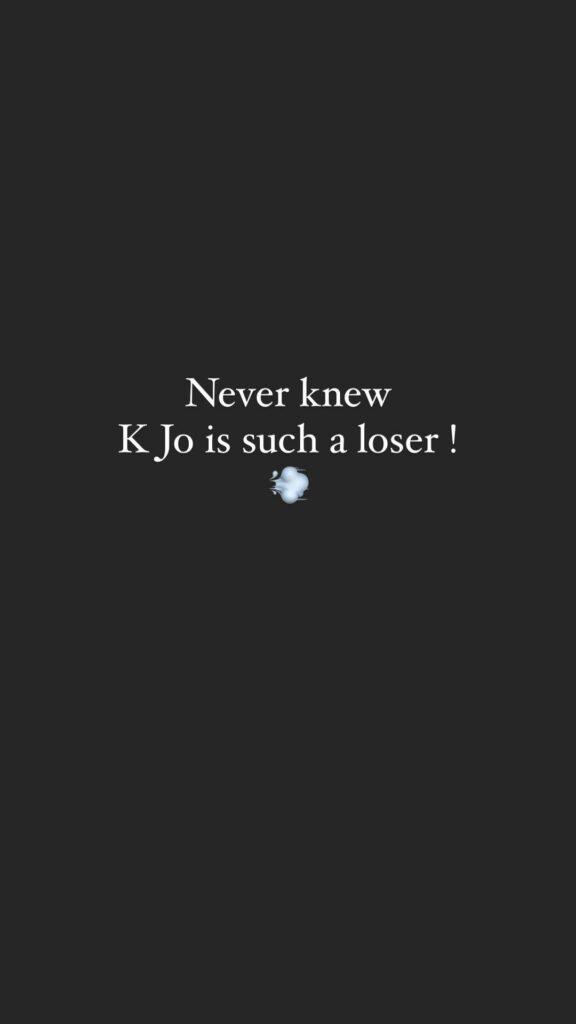 'Karan Johar is such a loser', says Suyyash Rai