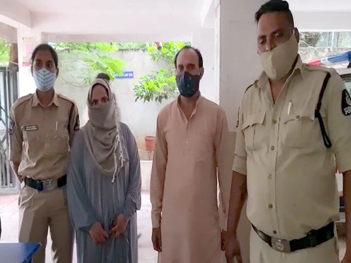 Hyderabad: Fake Baba and his female aide arrested for cheating public