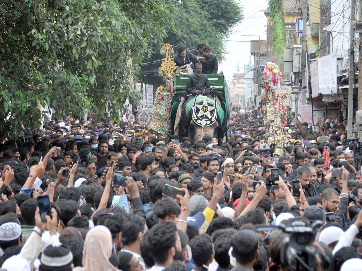 Hyderabad: Moharram procession passes off peacefully