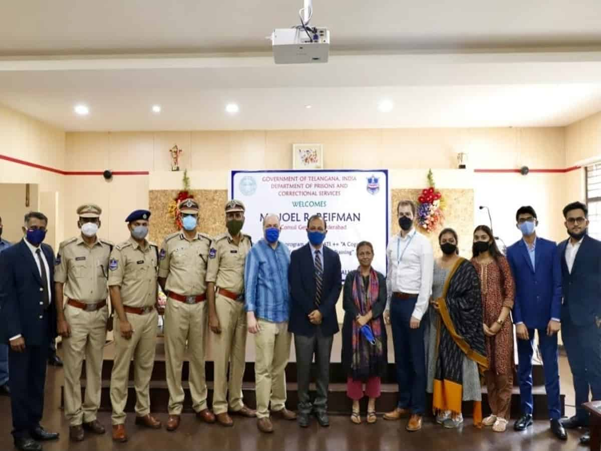 US Consul General in Hyderabad visits Cherlapally Jail