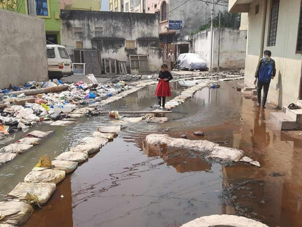 Hyderabad stinks! Public is 'sick' of overflowing drainages