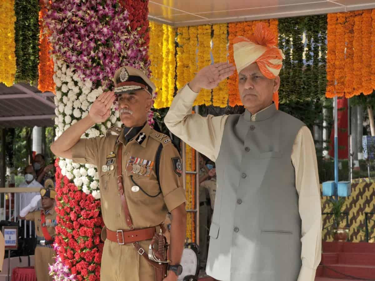 MoS Nityananda Rai praises IPS officers for relentless service