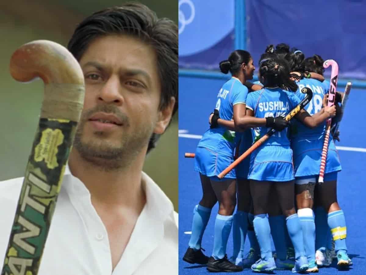 'From Ex-coach Kabir Khan': SRK sends best wishes to Indian women's hockey team