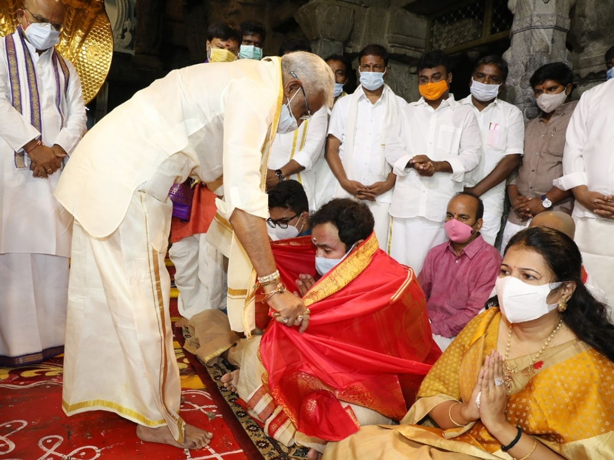 Union Minister Kishan Reddy launches yatra in Telangana