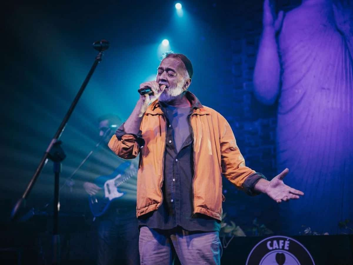 'Energy in Hyderabad is one of a kind and so is biryani' says Lucky Ali as he performs in city