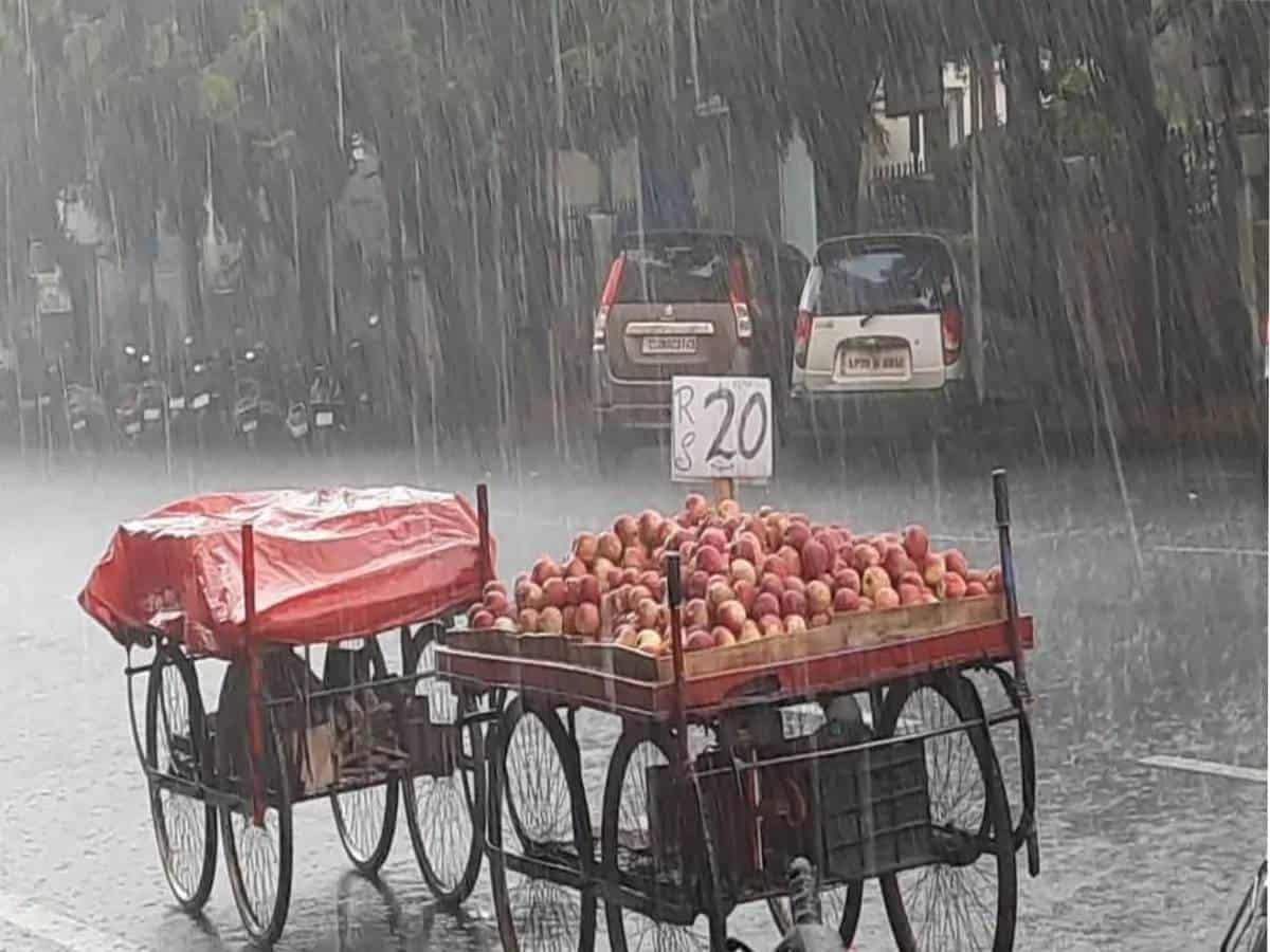 As heavy rains lash Hyderabad, city thrown out of gear