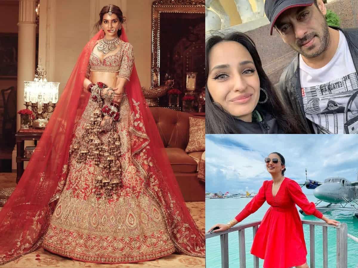 Trending photos: Kriti Sanon turns bride, Prakash Raj remarries & more