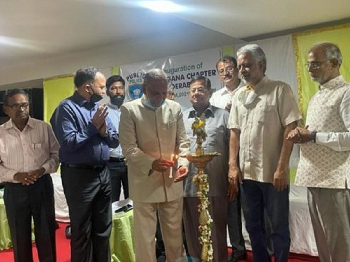 Public Police Telangana chapter inaugurated in Hyderabad