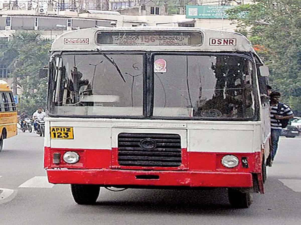 No RTC service in many old city areas, Metro work in doldrums