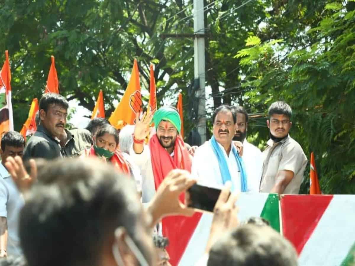 Hyderabad: Drainage system abysmal, says Revanth Reddy