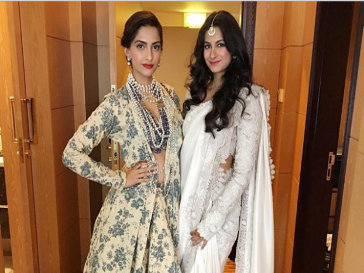 In pic: Sonam Kapoor with newly married sister Rhea Kapoor