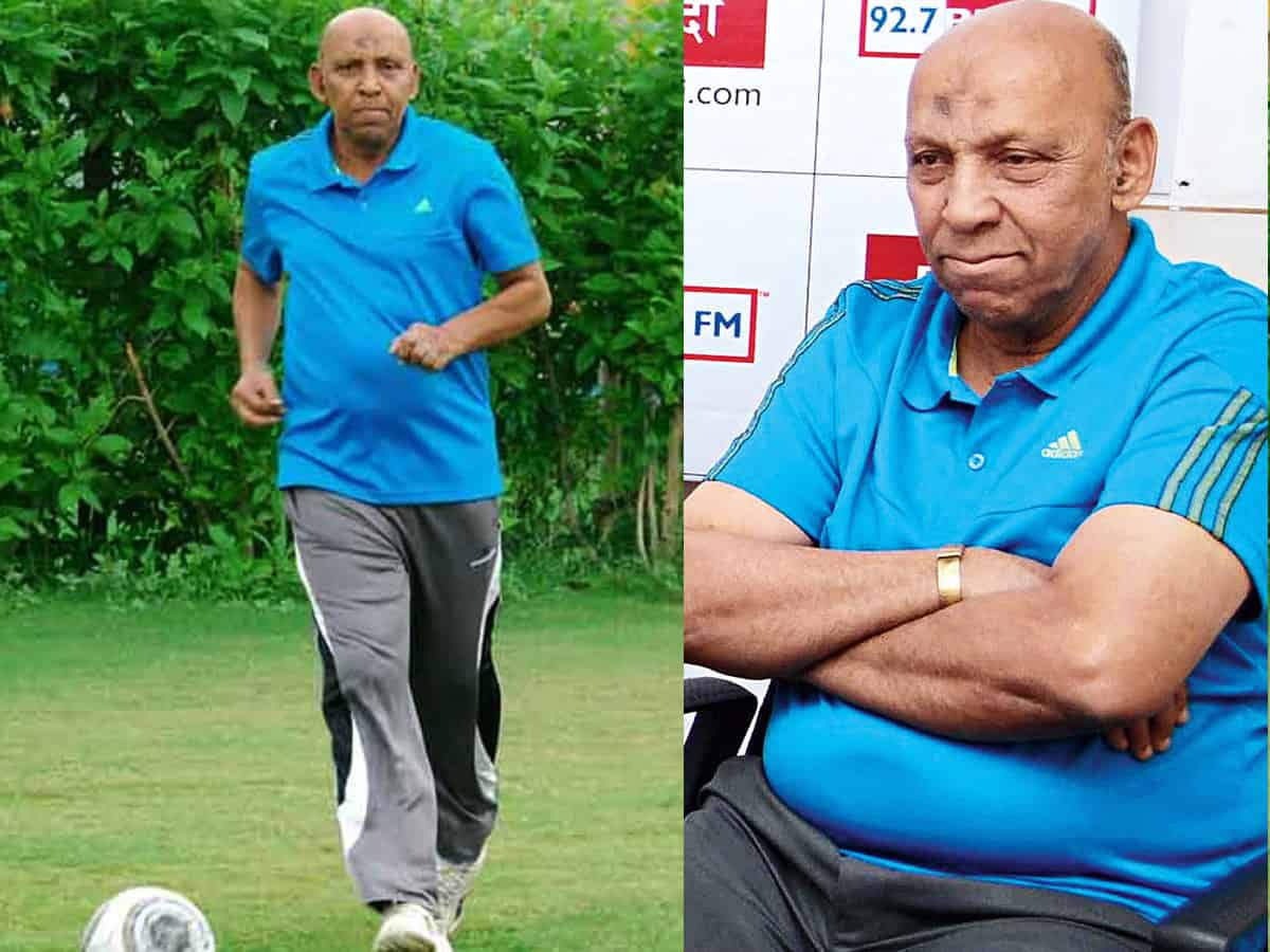 Hakeem who served India as a footballer, coach and referee is no more