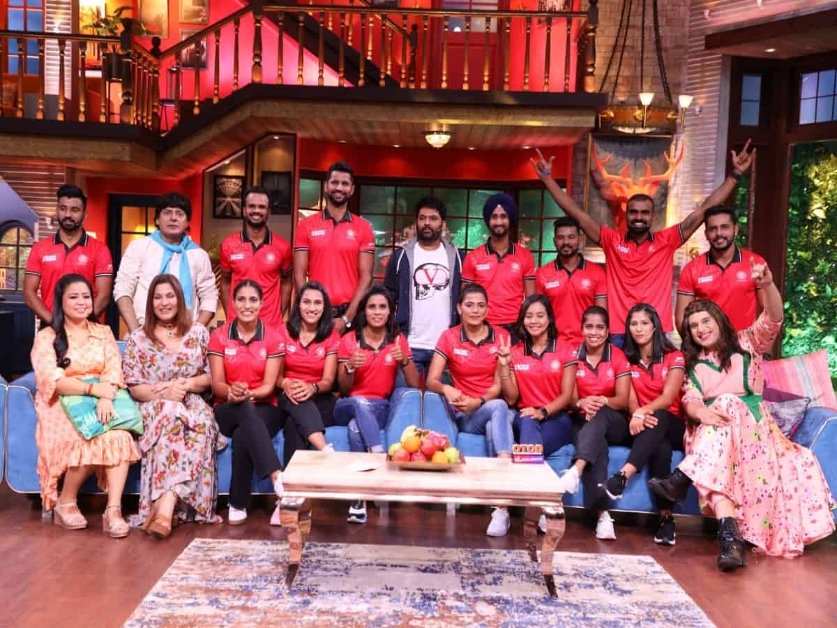 India's Olympic hockey champs to appear on The Kapil Sharma Show