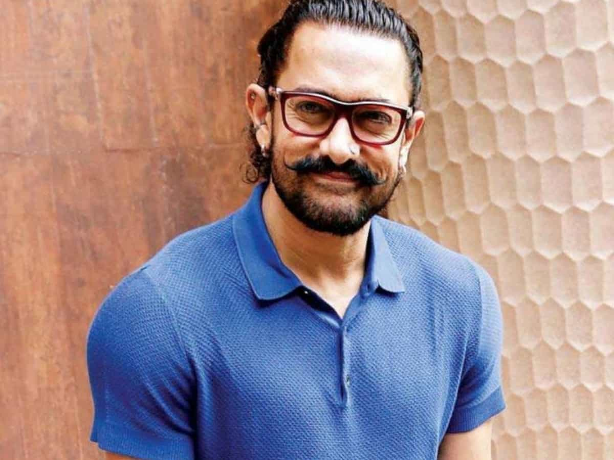 Aamir Khan shoots for 'Laal Singh Chaddha' in East Godavari