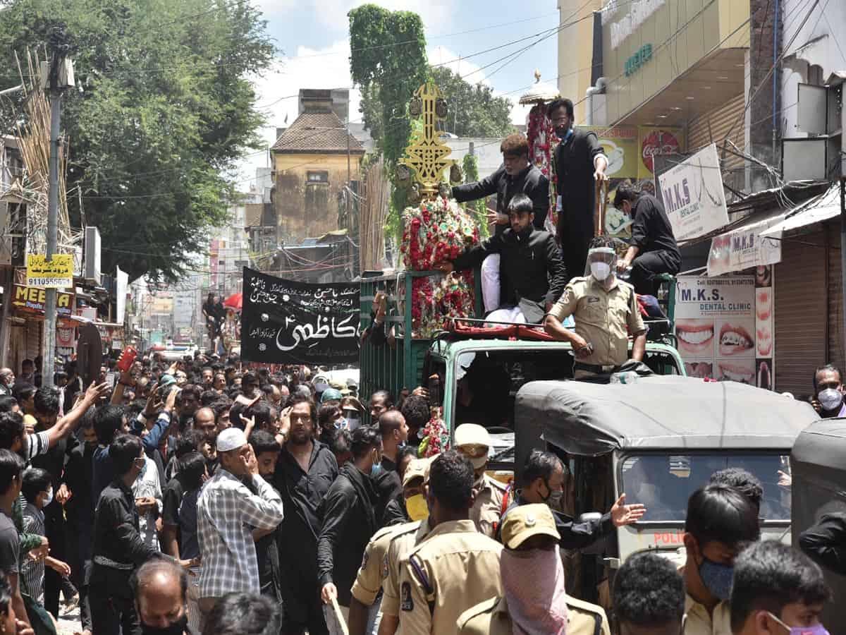 Hyderabad: Traffic diversions for Moharrum Bibi-ka-Alam procession