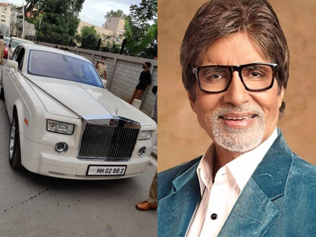 Rolls Royce Phantom registered in Amitabh Bachchan's name seized in Bengaluru