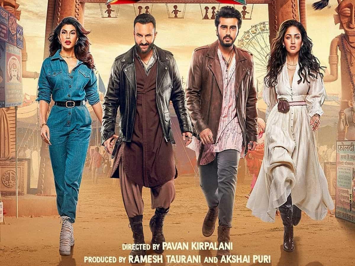 Watch Saif, Arjun, Jacqueline, Yami's 'Bhoot Police' trailer