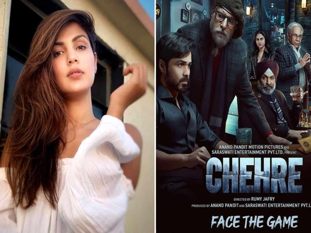 Rhea Chakraborty, Amitabh Bachchan's Chehre gets release date