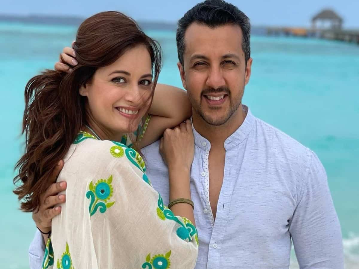 Dia Mirza pens loved-up birthday post for husband Vaibhav