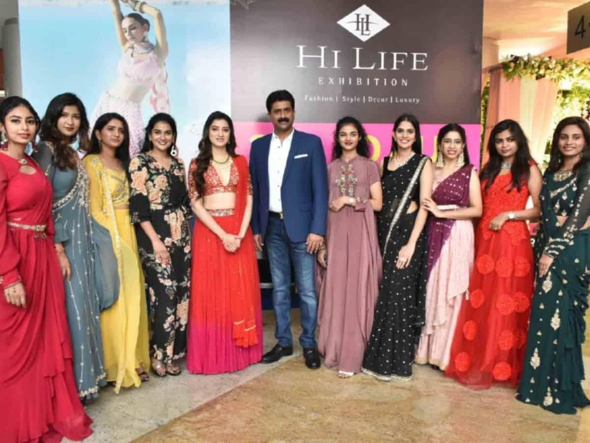 Actress Richa Panai, fashion enthusiast graces grand launch of HILIFE Exhibition