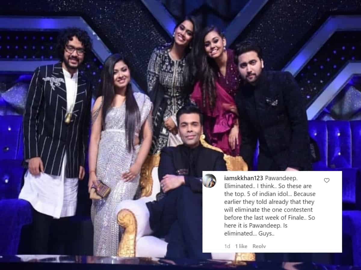 Indian Idol 12: Pawandeep missing from semi-finale pics, is he evicted?
