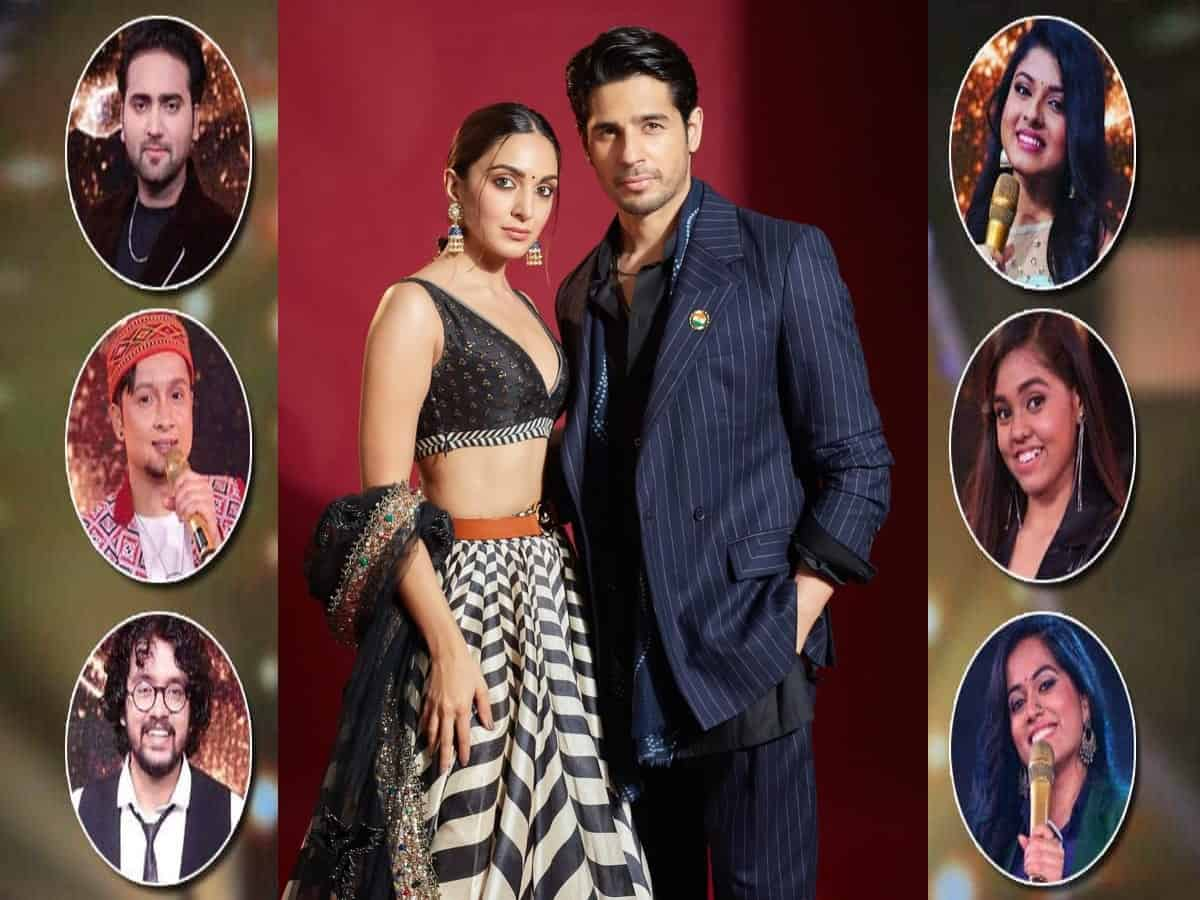 Sidharth, Kiara cheer Indian Idol 12 finalists