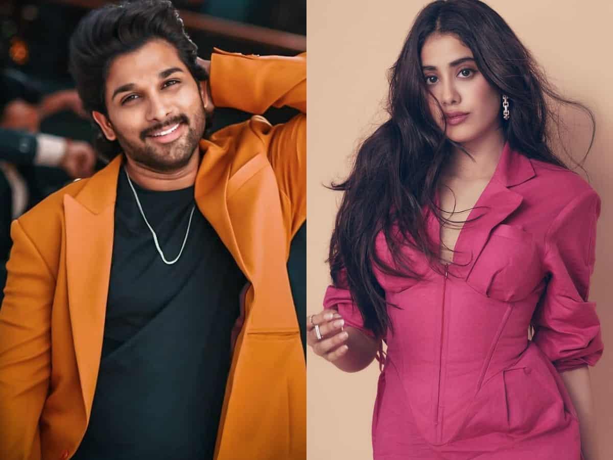 Janhvi Kapoor to romance Allu Arjun?