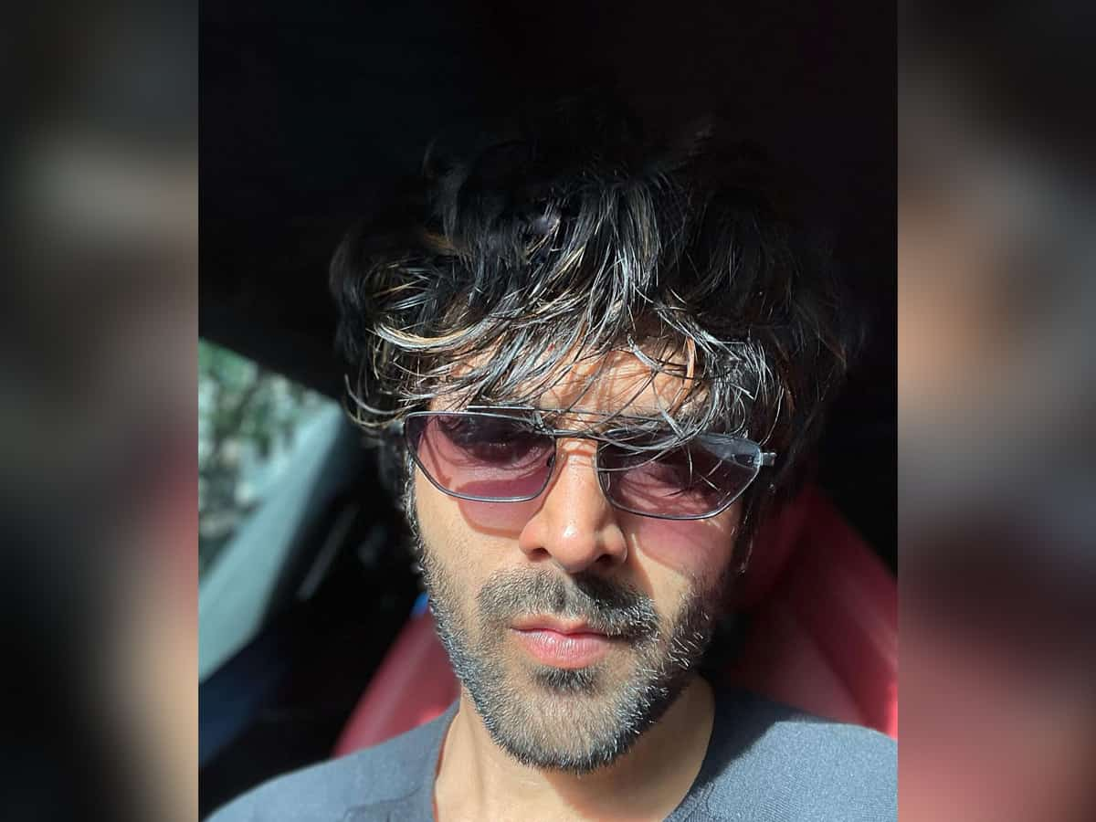 Kartik Aaryan gives glimpse of his pre-shoot Sunday mood