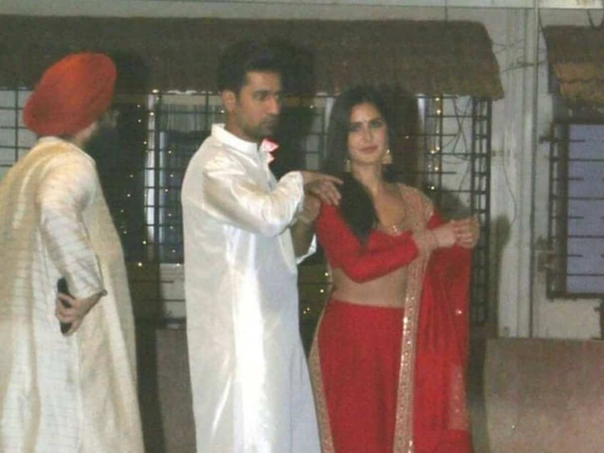 Amid engagement buzz, Vicky-Katrina's pic in traditional look goes viral