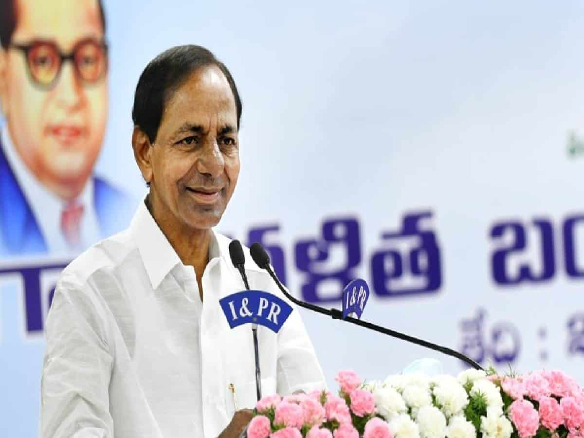 Will fight for development of Dalits till last drop of my blood: KCR