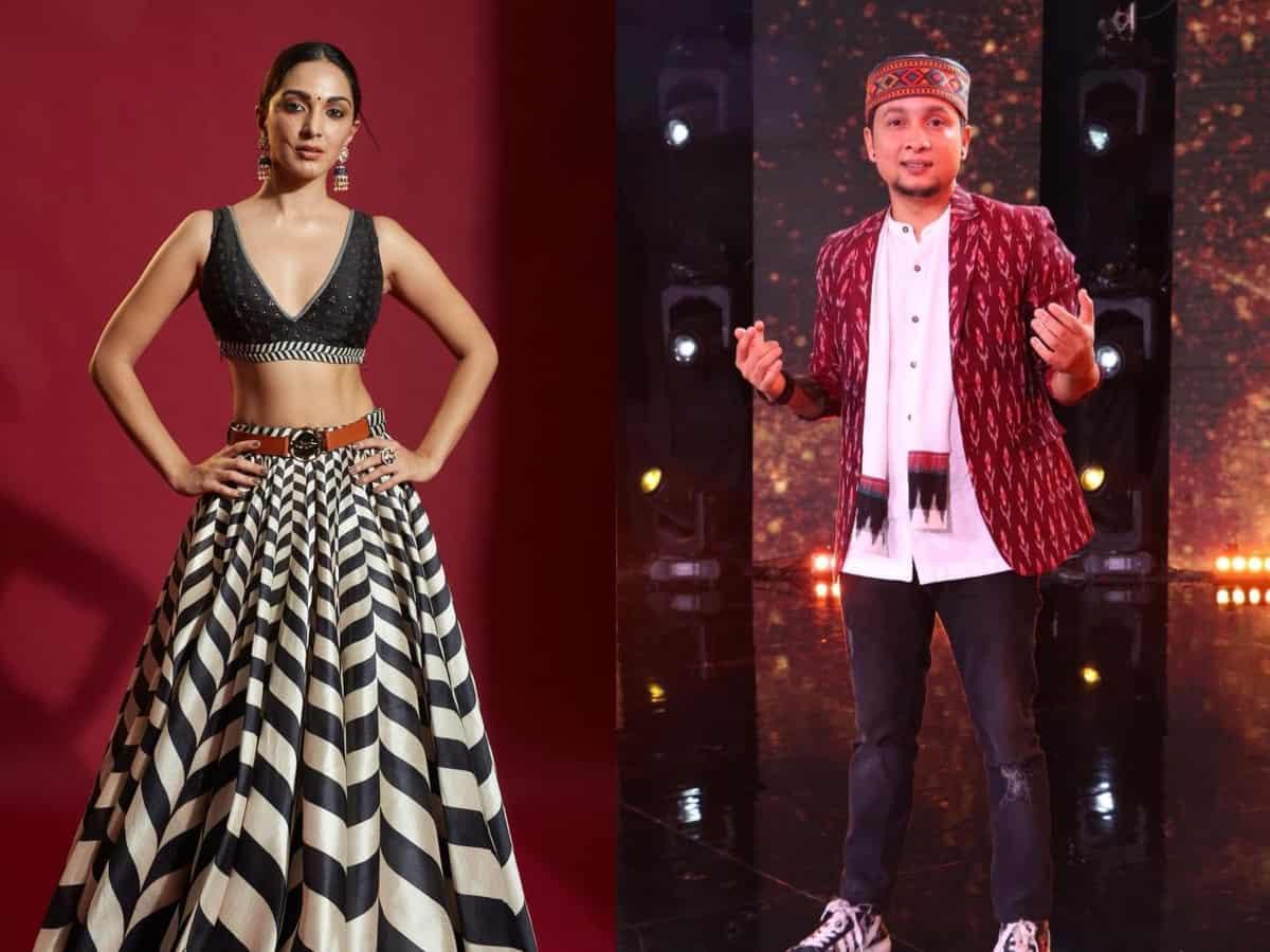 Indian Idol 12: Pawandeep grooves with Kiara Advani on Burj Khalifa [Video]