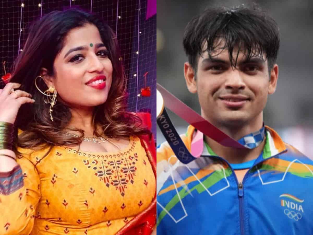 RJ Mallishka brutally trolled; reason is Neeraj Chopra