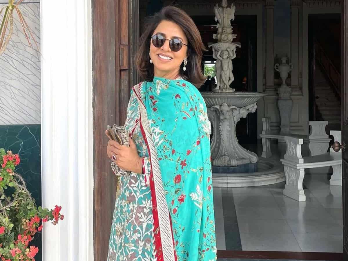 Watch: Neetu Kapoor breaks plates at restaurant to 'block evil spirits'