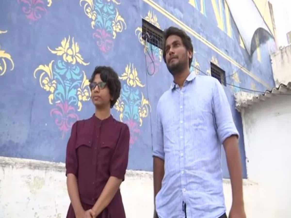 Two Hyderabad artists using street art to express thoughts on various issues