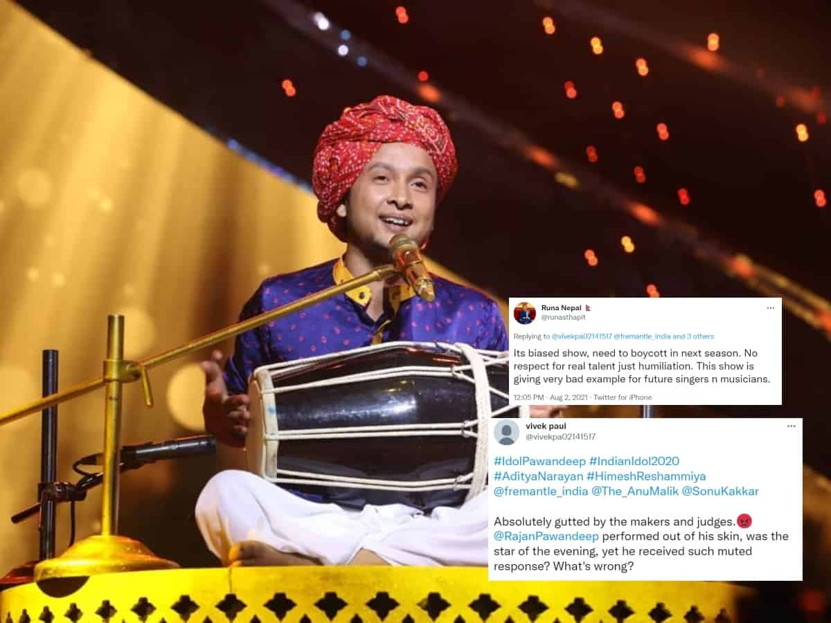 Indian Idol 12: 'Judges are planning to remove Pawandeep Rajan', say fans