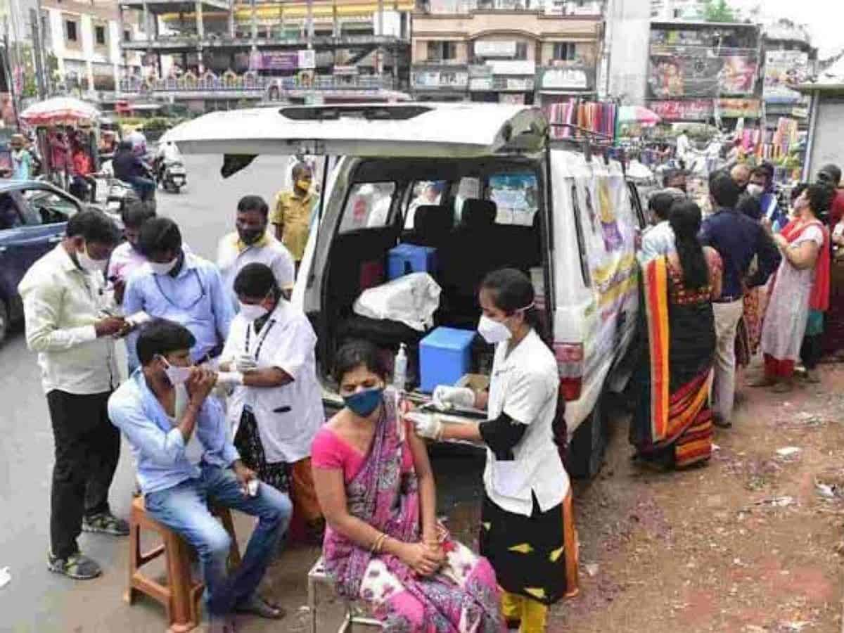 Vaccine at doorstep: Call or tweet GHMC to get COVID-19 vaccination