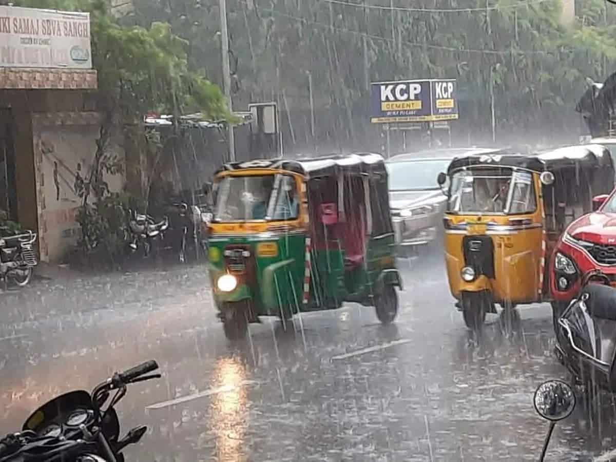 IMD issues four-day rainfall warning for Telangana