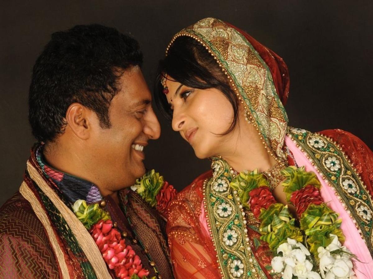 Prakash Raj gets married again!