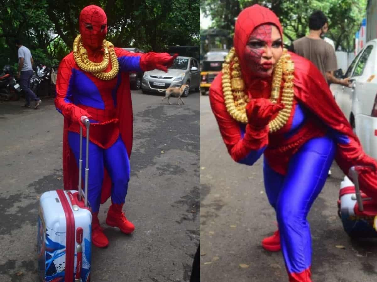 Rakhi Sawant 'protests' outside Bigg Boss OTT house [Video]