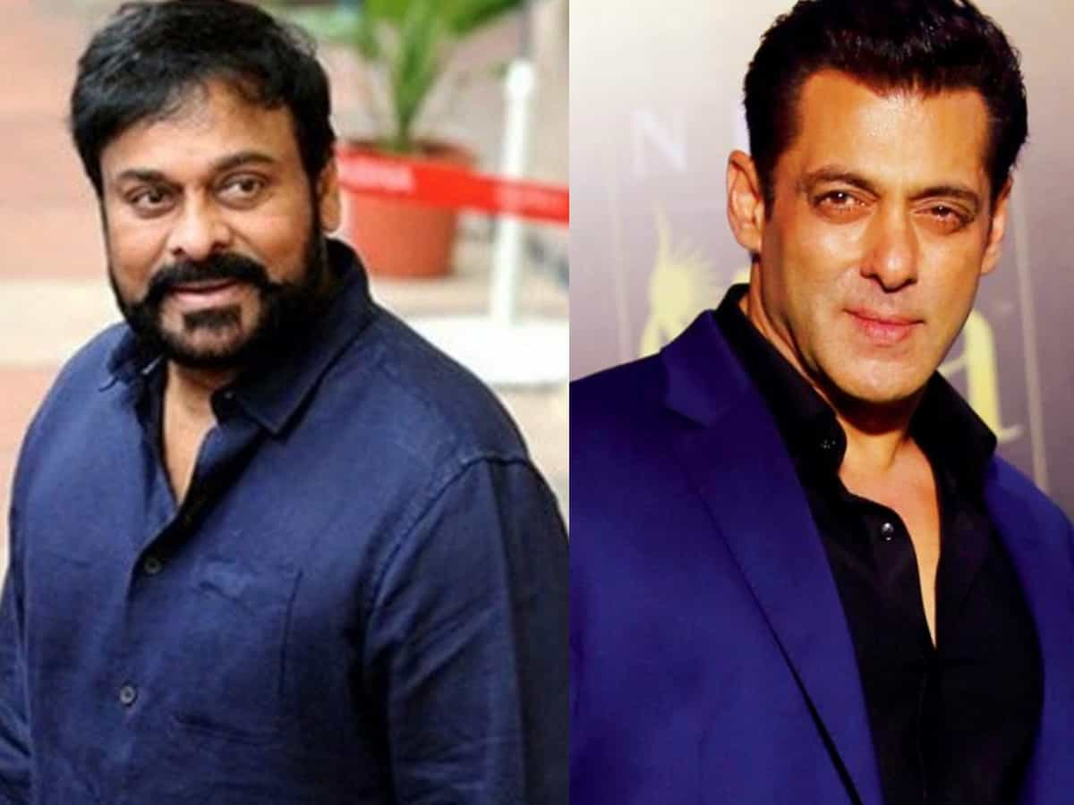 Salman Khan refuses to work with Chiranjeevi: Report