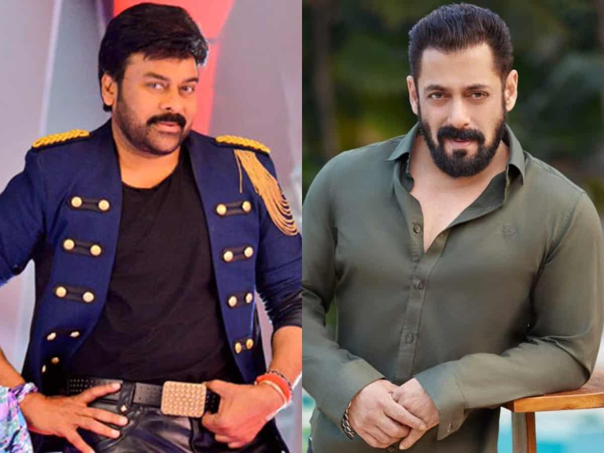 CONFIRMED! Salman Khan, Chiranjeevi to star together in a film