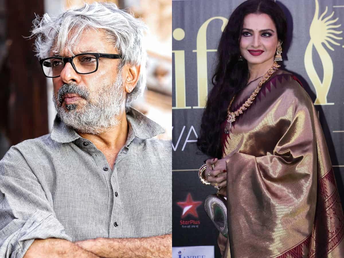Bhansali drops Rekha from his BIG film?