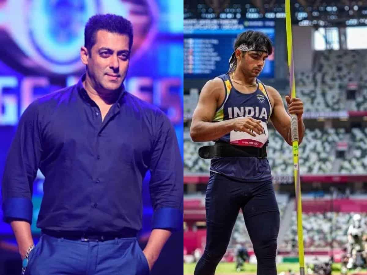 Salman Khan congratulates Neeraj Chopra for winning gold in Tokyo Olympics