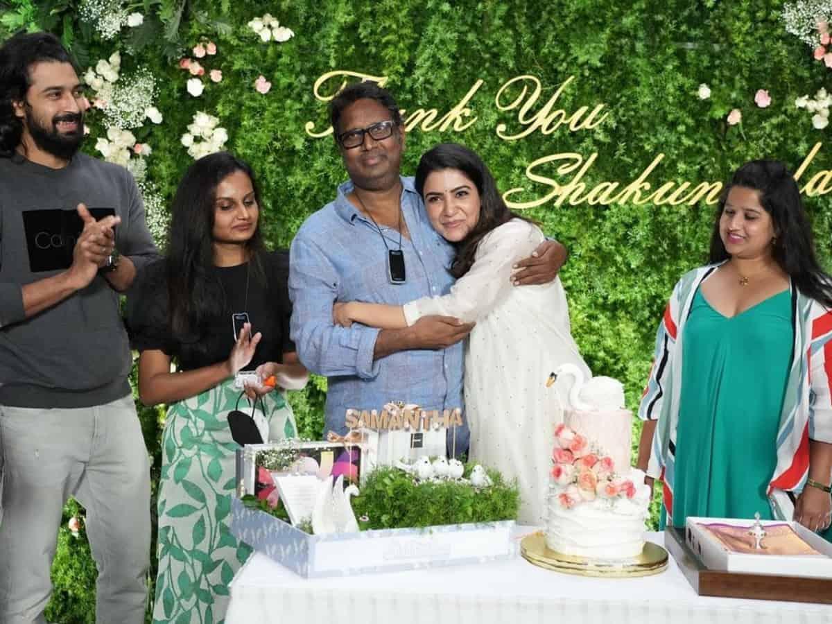 Samantha wraps up 'Shaakuntalam' shoot on emotional note