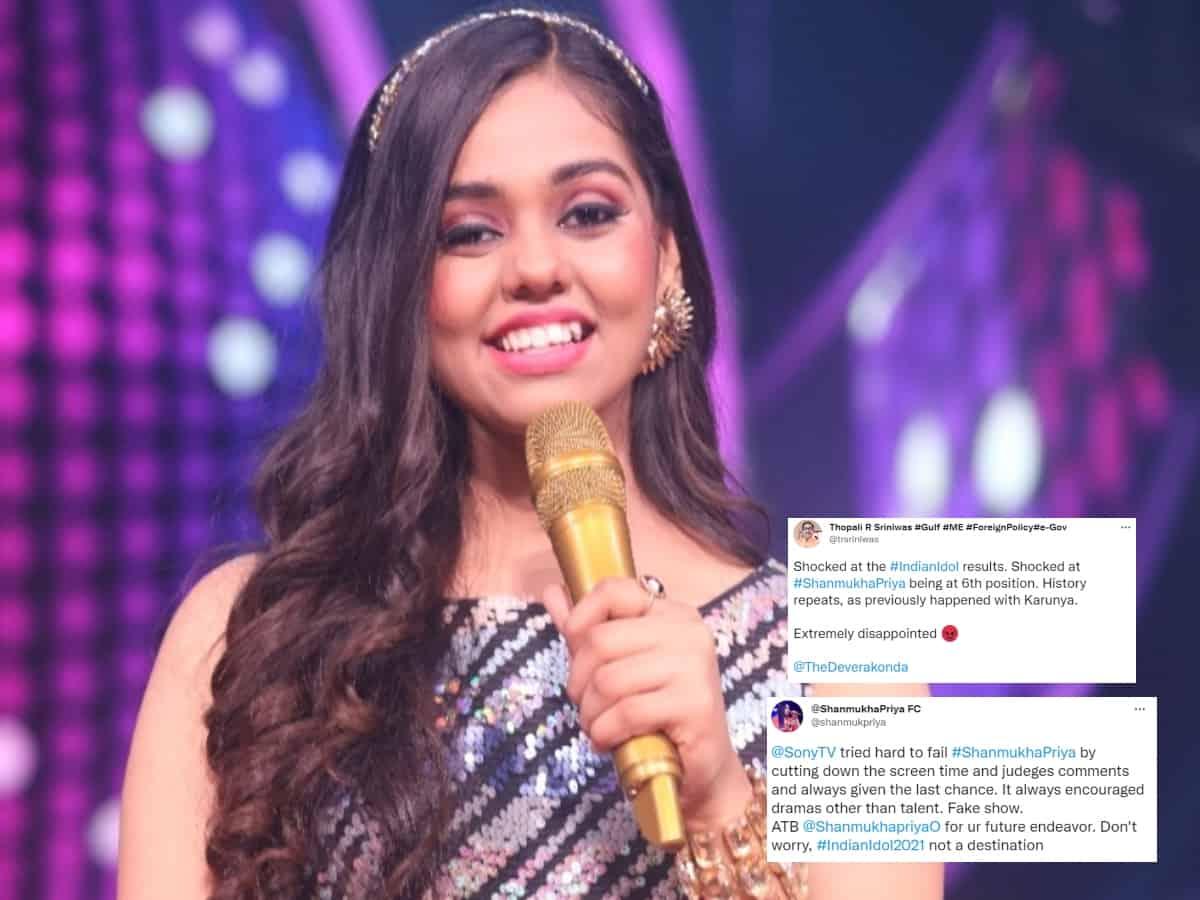 Indian Idol 12: Telugu audience slam makers for giving Shanmukha Priya last position