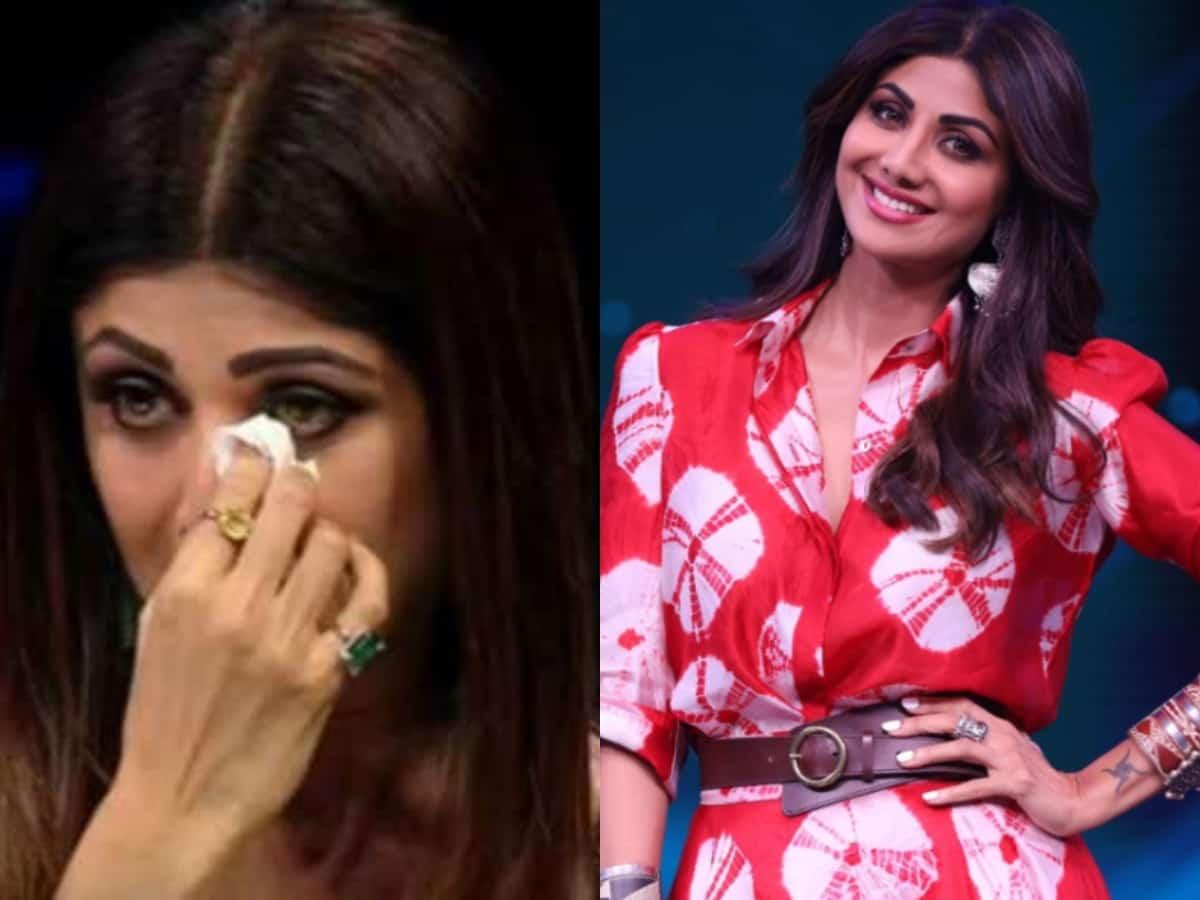Shilpa Shetty breaks down on the sets of Super Dancer 4