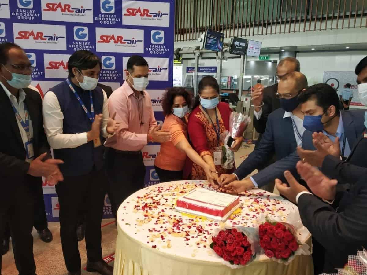Star Air's maiden flight connects Hyderabad to Jamnagar